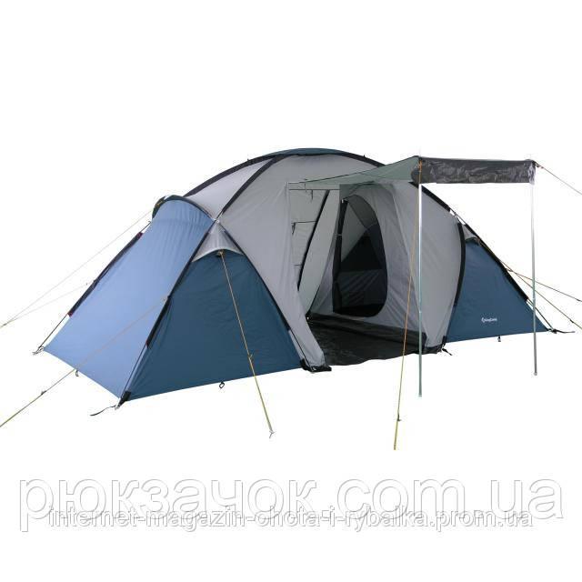 Палатка кемпинговая двухслойная, Палатка 4-местная KingCamp Bari 4 KT 3030