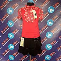 Детские блузки для девочек на короткий рукав  Katherine