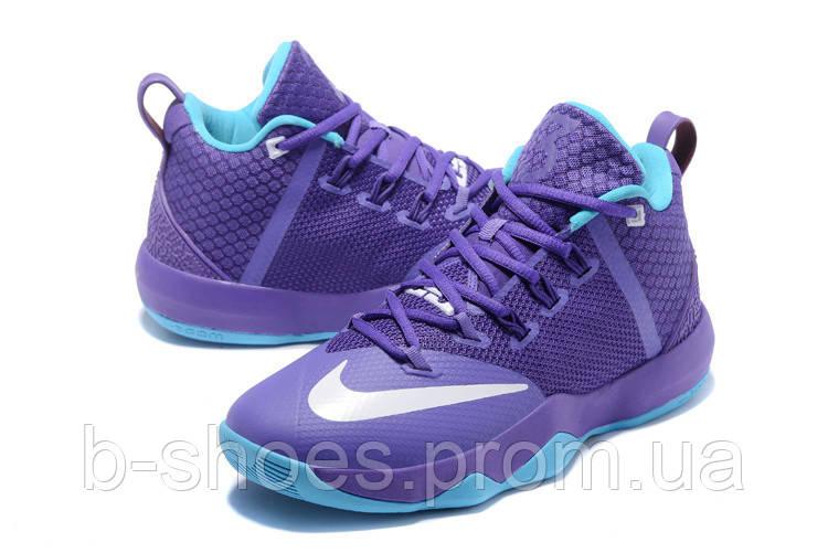 Мужские баскетбольные кроссовки Nike Ambassador 9 (Purple/Blue)