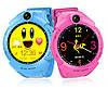 Детские умные часы Q 610S с LED фонариком