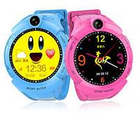 Детские умные часы Q 610S с LED фонариком, фото 1