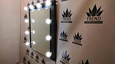 Визажное зеркало в салон красоты