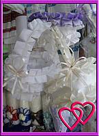 """Свадебные корзинки для лепестков """"Атлас"""""""