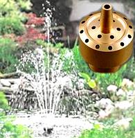 Насос для фонтана с подсветкой и насадкой Фейерверк 3 яруса