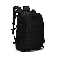Рюкзак мужской камуфляжный 35-40 литров. Туристические рюкзаки. Зеленый, черный, желтый, серый цвет Черный