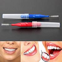 Зубочистка-щетка, Ершики для чистки межзубных промежутков