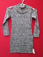 Модное платье для девочки с голыми плечами