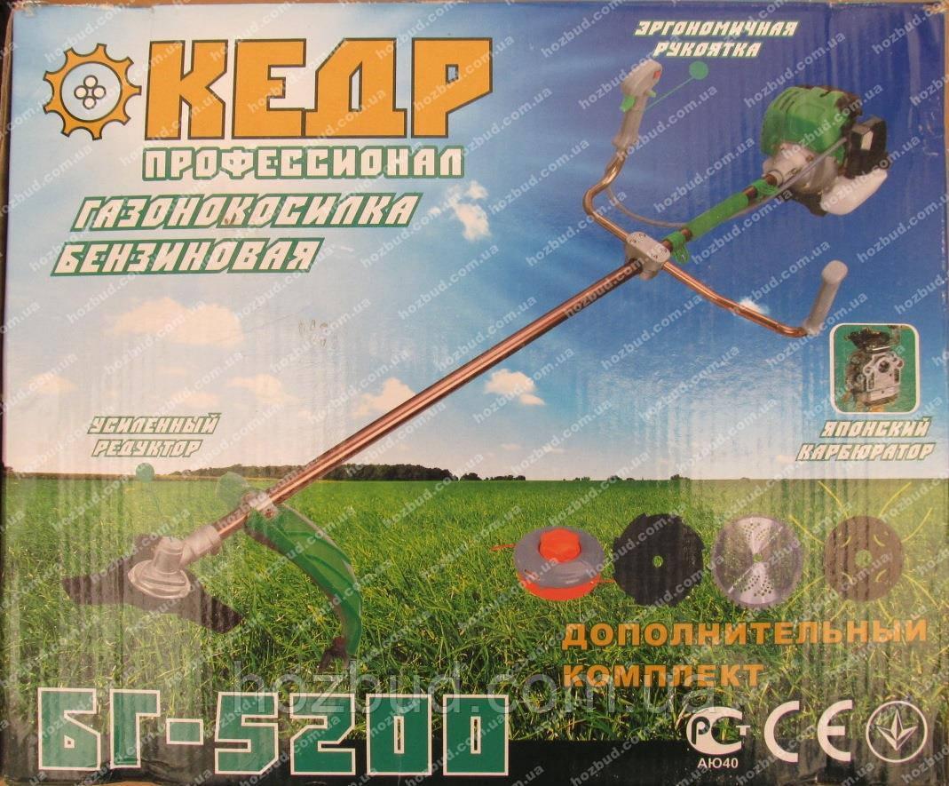 Бензокоса  Кедр БГ-5200