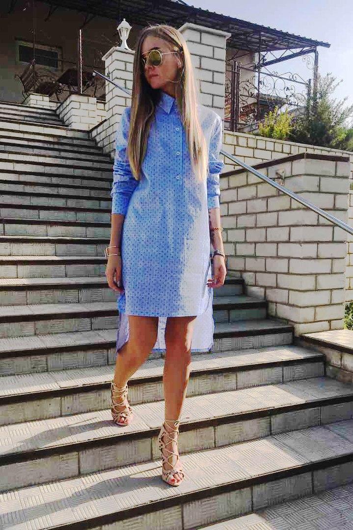 Платье-рубашка Ann Undine Blue 2, фото 1