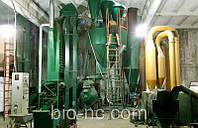 Линия гранулирования опилок 1600 кг в час