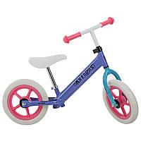 Беговел PROFI KIDS детский 12 д. M 3440-6 (1шт) колеса EVA, пласт.обод, сиреневый
