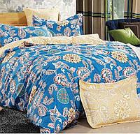 Комплект постельного белья полуторный HomeLine Сатин 160х220 Эльза