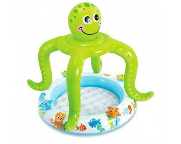Детский надувной бассейн Intex 57115 «Осьминог»