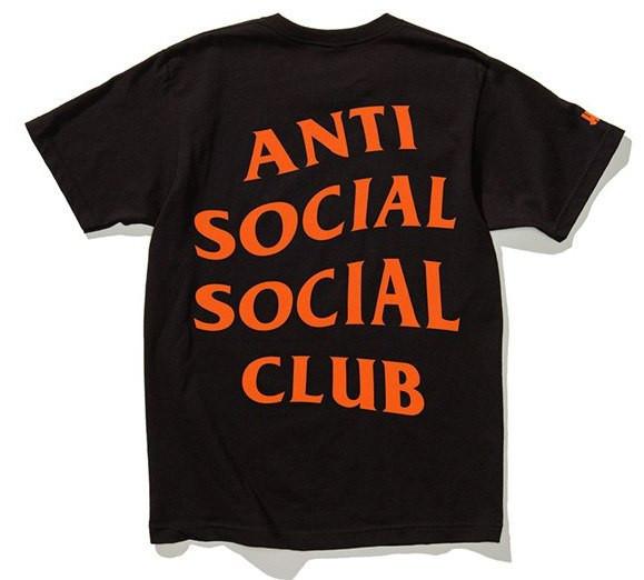 Футболка с принтом A.S.S.C. Paranoid | Anti Social social club