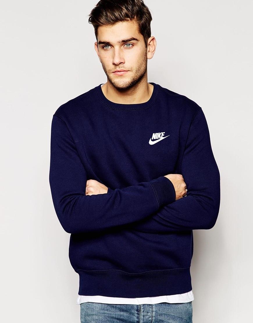 Мужской Свитшот Nike(маленький принт)