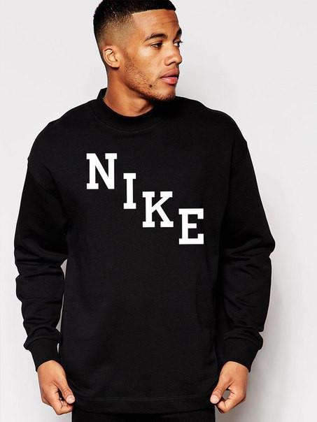 """Мужской Свитшот """"Nike"""" черный"""