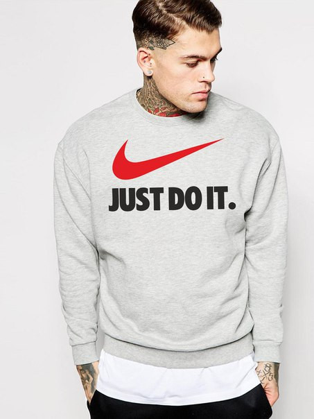 "Мужской Свитшот Найк ""Nike Just Do It"""