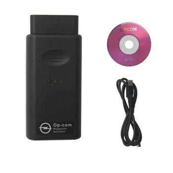 OPCOM OP-COM v2010 авто Diagostic инструмент для Opel OP-COM V1.45 диагностики интерфейса шины высокого качест