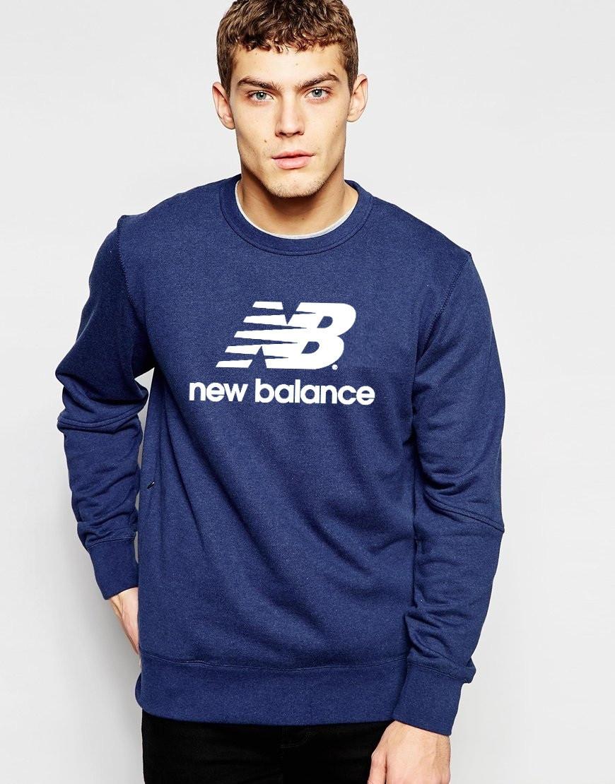 Мужской Свитшот New Balance c принтом