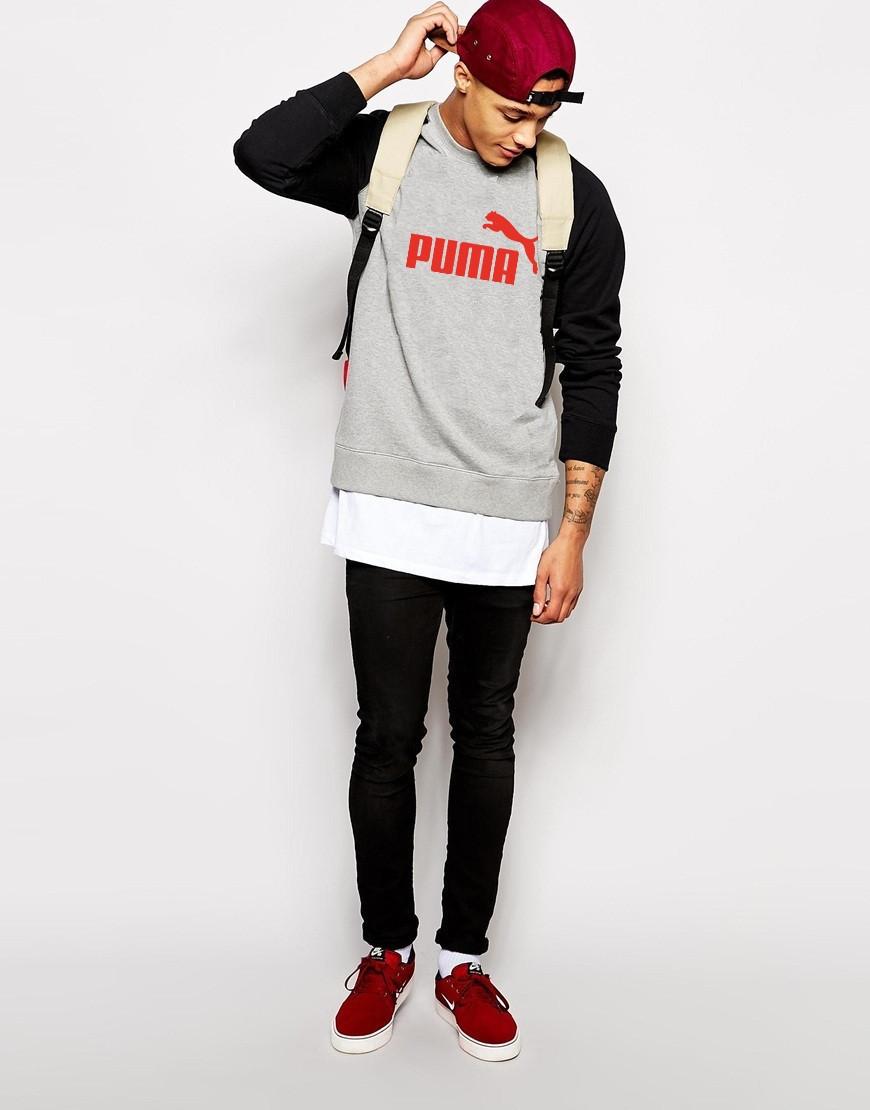 Мужской Свитшот Puma с принтом