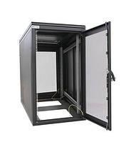"""Шкаф ZPAS 19"""" 24U 600x1000, перфор.двери WZ-SZBSE-014-5711-11-0000-2-161, черный, SE-014-5711-11-1-161"""
