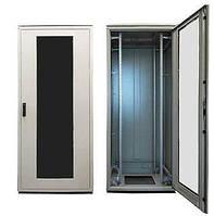 """Шкаф ZPAS 19"""" 42U 800x800, стекл.дверь WZ-SZBD-017-ZCAA-11-0000-161, черный, BD-017-ZCAA-11-161"""