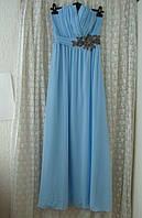 Платье вечернее выпускное в пол Little Mistress р.42-44 7568