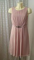 Платье коктейльное красивое миди Esprit р.46 7569