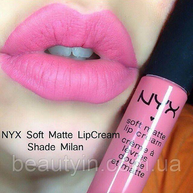 Жидкая матовая губная помада NYX Soft Matte Lip Cream smlc11 Milan