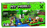 Конструктор Bela (аналог Lego Майнкрафт, Minecraft), 262 дет., 10175 HN