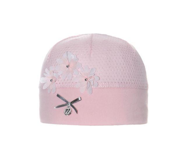 Перфорована дитяча літня шапочка для дівчаток від Marika Польща