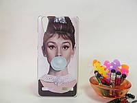 Силиконовый бампер чехол с рисунком для Lenovo A6000 / K3 / A6010