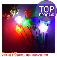 Светящаяся волшебная палочка на пружине, 3 режима / осветительные приборы