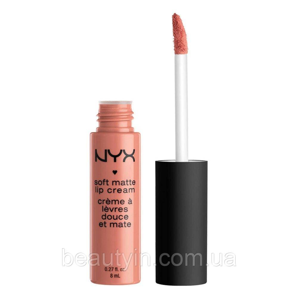 Жидкая матовая губная помада NYX Soft Matte Lip Cream smlc 02 Stockholm