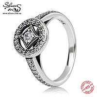 """Серебряное кольцо Пандора (Pandora) """"Винтажное очарование"""""""