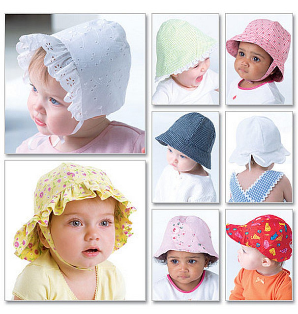 Летние детские шапочки, панамки, косынки