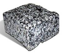 Брусчатка гранитная Покостовского месторождения 10*10*5