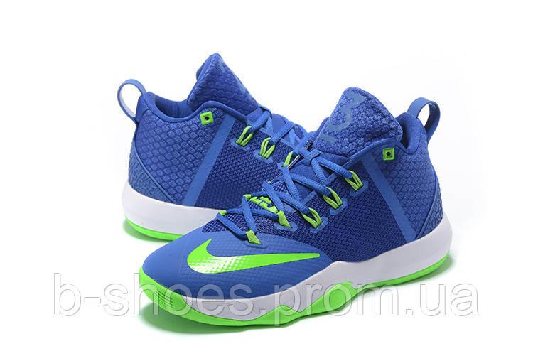 Мужские баскетбольные кроссовки Nike Ambassador 9 (Blue/Green)