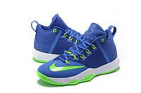 Мужские баскетбольные кроссовки Nike Ambassador 9 (Blue/Green), фото 1
