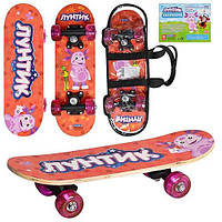 Детский скейт LT 0029 Лунтик