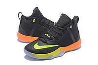 Мужские баскетбольные кроссовки Nike Ambassador 9 (Black/Lime/Orange), фото 1