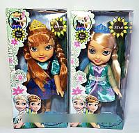 """Кукла музыкальная """"Анна"""" и """"Эльза"""", Frozen Fever, 4 вида, арт. 2093 B HN"""