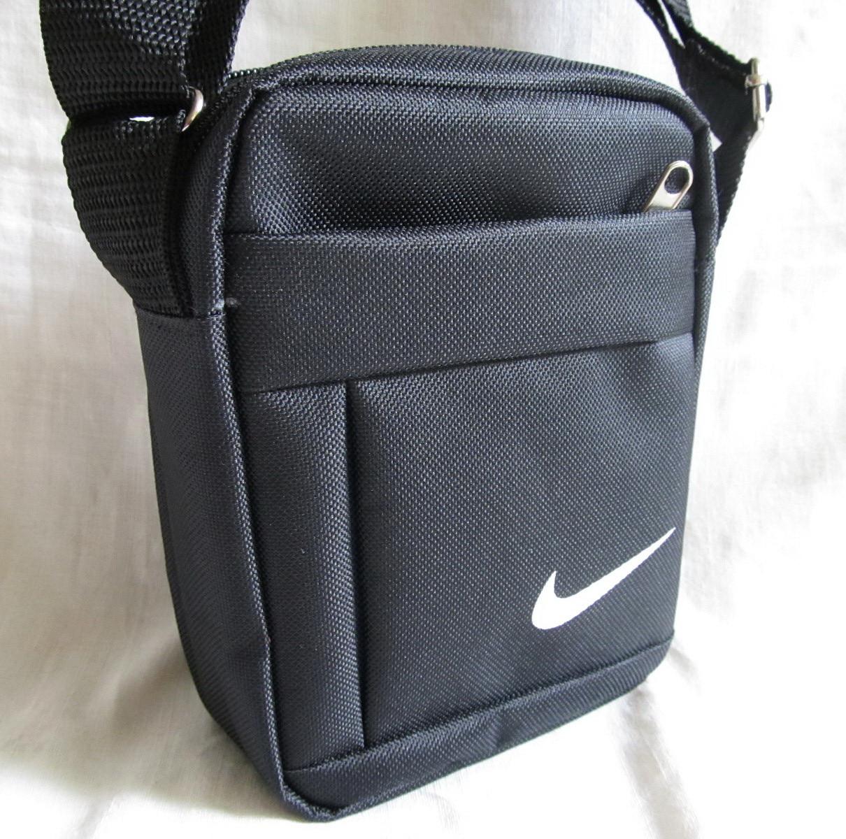 1401ab7715ac Сумка через плечо спортивная мужская женская барсетка черная 16х13х6см -  Интернет-магазин