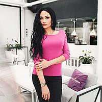 Женская кофта блуза с разрезами