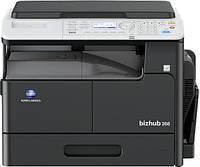Монохромный лазерный МФУ bizhub 266 формата А3. Копир/Принтер/Сканер/Факс(опция)