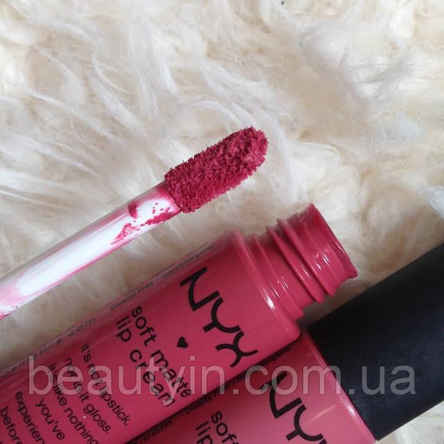 Жидкая матовая губная помада NYX Soft Matte Lip Cream smlc 05 Antwerp