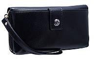 Стильный женский кошелек W2620 black