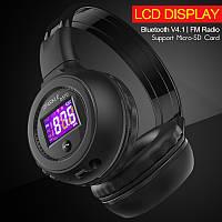 ZEALOT B570 Складные Hi-Fi Стерео Беспроводные Bluetooth Наушники С ЖК-Экраном Fm-радио Micro-SD Слот