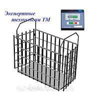 Весы электронные для взвешивания животных ВН-1500-4 до 1500кг.