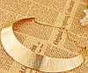 Ожерелье металл золото